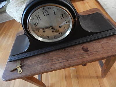 Vintage Seth Thomas Striking Pendulum Mantle Clock Good Timekeeper Usa Sale