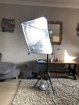 Interfit EXD200 Flash Unit With Tripod and Leads