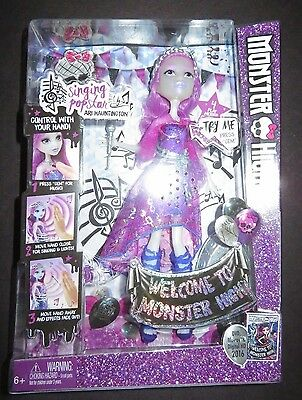 Welcome to MONSTER HIGH Singing ARI HAUNTINGTON Doll NEW!