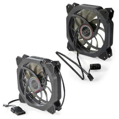 DC 12V PC Silent Cooler 120mm Dual Halo Hydraulic Bearing CPU Cooling Fan C#P5