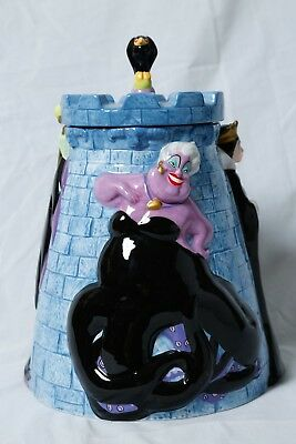 Disney Cookie Jars >> Disney Cookie Jar Villains Maleficent Ursula Evil Queen Rare Vintage Collectible