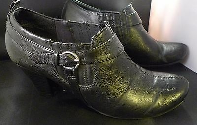 WOMEN'S RELATIVITY BROWN Holly High Heels Shoes Size 8 M