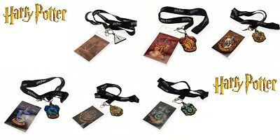HARRY POTTER Lanyard & Keyring Sets Official Merchandise Birthday Christmas Gift