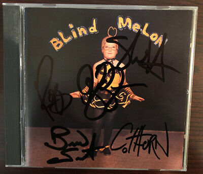 Blind Melon Signed Autographed Cd 1992 Shannon Hoon 4 Nirvana