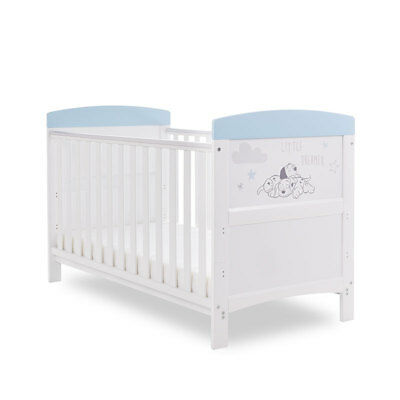 Obaby Inspire Dalmatians Cot Bed  - Baby Girls / Boys Nursery Furniture