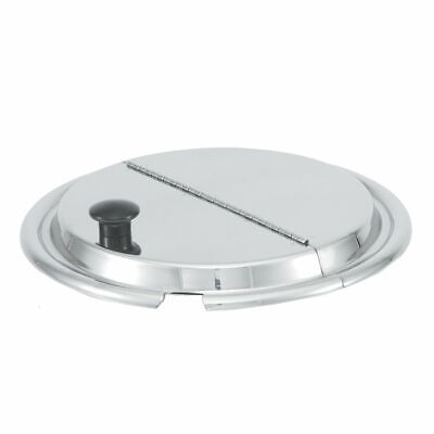 """Vollrath 47486 S/S 7-1/2"""" Hinged Inset Cover"""