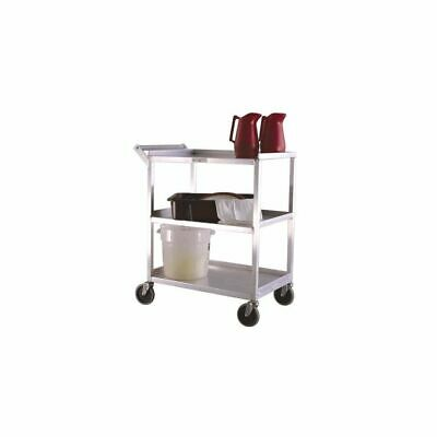 New Age Industrial NS745 Aluminum Open Bussing Cart with 3 Shelves