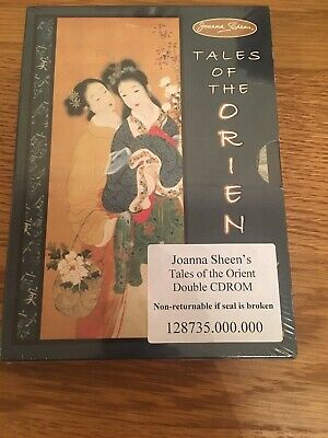 JOANNA SHEEN CD ROM –  Tales Of The Orient Double CD Rom NEW AND SEALED - Craft