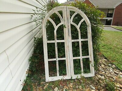 Gothic Church Window Frame Farmhouse Arched Wood Frame Cathedral
