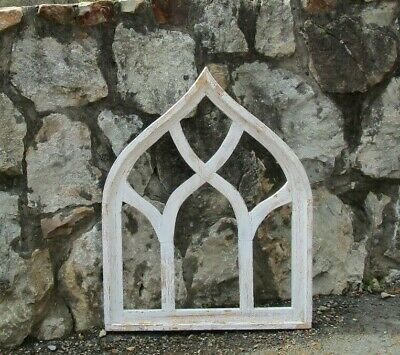 e0e9fb3d369 Arched Farmhouse Cathedral Window Rustic Gothic Church Frame  Tuscan Wall  Decor