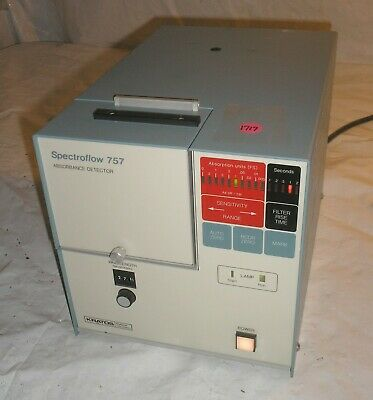 Kratos Spectroflow 757 Absorbance Detector - Working -