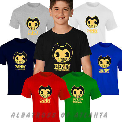 Bendy and The Ink Machine Kids, Unisex And Ladies T- shirt