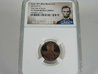2019 W Lincoln Shield Cent  NGC Pf 70 Rd UCam, First Day of Issue