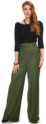 Collectif Gertrude 40s Trousers