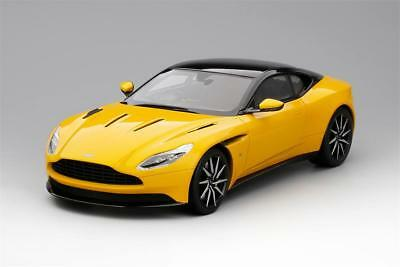Aston Martin DB11 in Sunburst Yellow 1:18 Scale by Topspeed