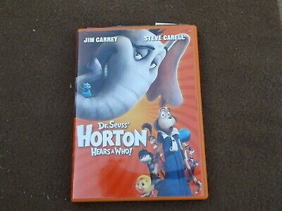 DVD Dr. Seuss' Horton Hears A Who! Jim Carrey Rated G Special Features 86 Minute