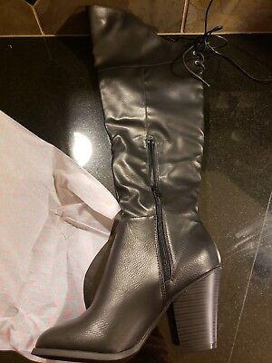 24a85fe453e Journee Collection Spritz Over The Knee Boot ‑ Women s ‑ Black Size  9 NIB