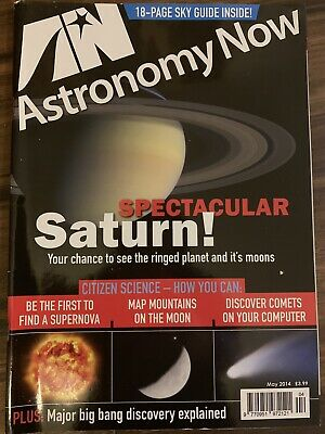 ASTRONOMY NOW - Spectacular Saturn - May 2014