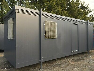 24x8ft Site Office / Portable Building /Jack leg / Site Cabin / Canteen