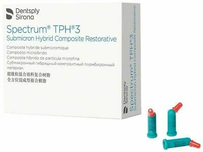 Dentsply Sirona TPH3 Compules Restorative Composite 20/Pk Light Curing All Shade