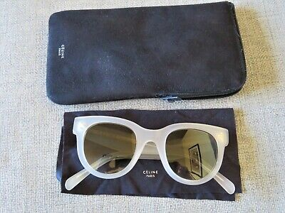 5065d3178fbfb CELINE BLACK AUDREY Sunglasses + Case -  66.00