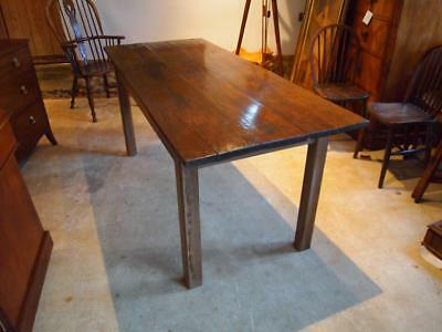 Table dining refectory farmhouse George IV Oak and Pine c1820
