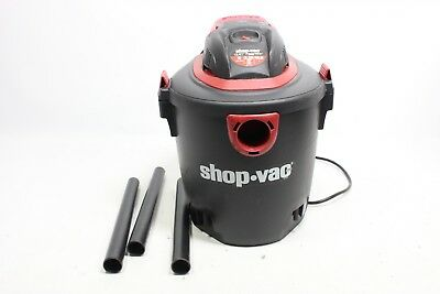 Shop-Vac 2035000 5 gallon 2.0 Peak HP Classic Wet Dry Vacuum, Black/Red