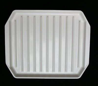 Nordic Ware Microwave Double Sided Bacon Meat Food Pizza Grill Pan Tray Cooker