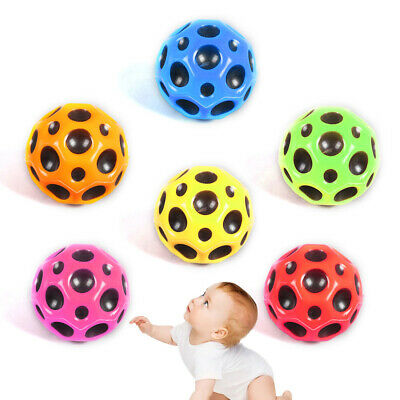 New Moon Surface Ball Extreme Bounce Fast Spin Lightweight Throw Catch Toy Gift