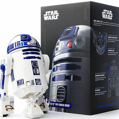 Star Wars Original R2-D2 by Sphero App Enabled Droid Brand New!