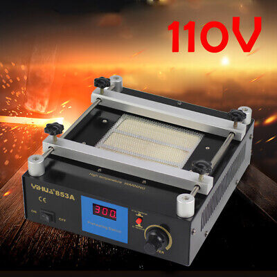 853A Preheating Rework Station Infrared Heating Ceramic Body High Efficiency US