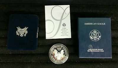 2004-W Silver American Eagle One Ounce Proof Coin US Mint With COA