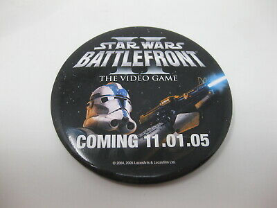Star Wars Battlefront II 2005 11-01-05 Promo In-Store Pin Xbox PS2
