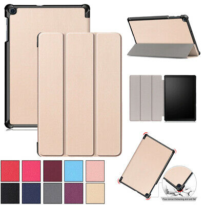 """For Samsung Galaxy Tab A 10.1"""" SM-T510/T515 Smart Flip Leather Stand Cover Case"""
