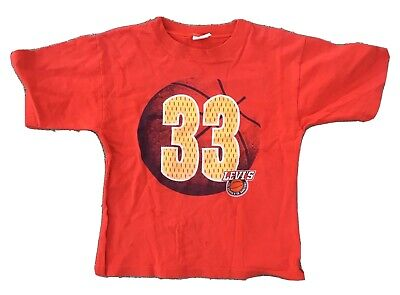 Vintage LEVI'S STRAUSS & CO BASKETBALL T-Shirt 33 Kids 7 Made In USA