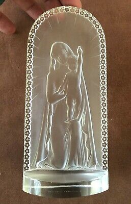 Lalique Madonna With Baby Jesus