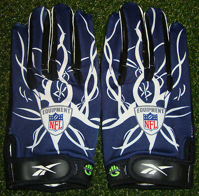 Authentic DALLAS COWBOYS Team Issued NFL Equipment REEBOK 5XL Gloves UNUSED COA