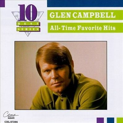 All-Time Favorite Hits [Capitol Special Markets] by Glen Campbell (CD, Nov-2003…