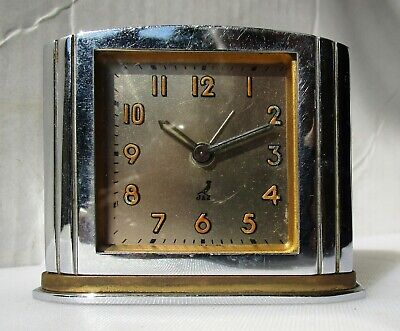 Lovely Vintage Dome Stainless Steel Alarm Clock from JAZ