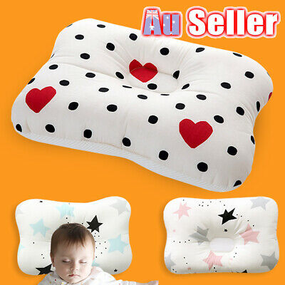 Baby Infant Support Prevent Syndrome Flat Neck Head Newborn Pillow Square