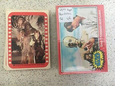 1977 Topps Star Wars (Series 2 Red) + STICKERS!