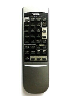 Torica Video Cd Vcd Player Remote Control