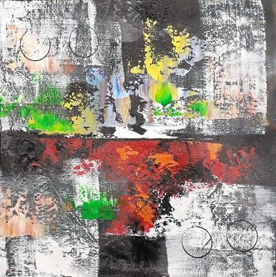 Modern Home Decor Art Canvas Wall Abstract Hand-Painted Oil Painting Gift