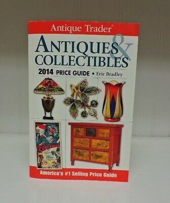 Antique Trader Antiques & Collectibles Price Guide 2014 Paperback Book