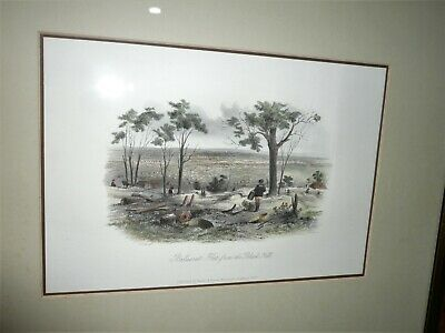 Antique Original Hand Coloured Lithograph By S.t. Gill Dated 1857 & Titled