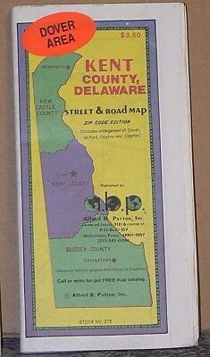 1994 Patton Street Map of Kent County, Delaware