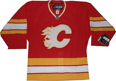 official photos 9ac03 338c2 CALGARY FLAMES REEBOK Authentic 6132A Jersey New with tags Older style