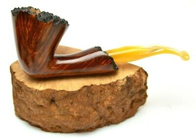 Freehand Huge Bent Hand Carved Briar Pipe For Smoking Tobacco Accessories Smoker