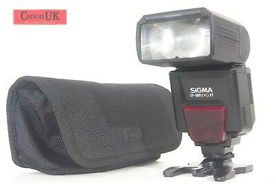 Canon Fit Sigma EF-500 DG ST Flash Speedlight  Auto ETTL II + Extras *Free P&P*