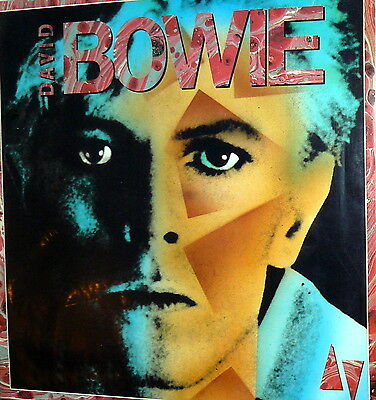 David Bowie  Lp Same Rare Cover Spain  1985  Made In  Spagna  Prt- Zm 702